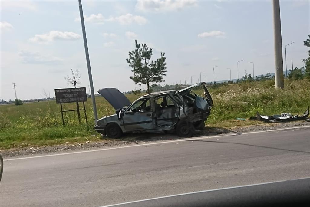 Un Nou Accident Pe Dn1 La Intersecția Spre Florești Trei